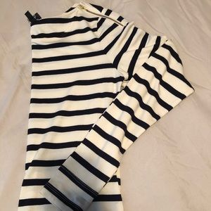 Limited striped top